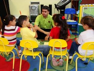Niños en el Pre-Escolar