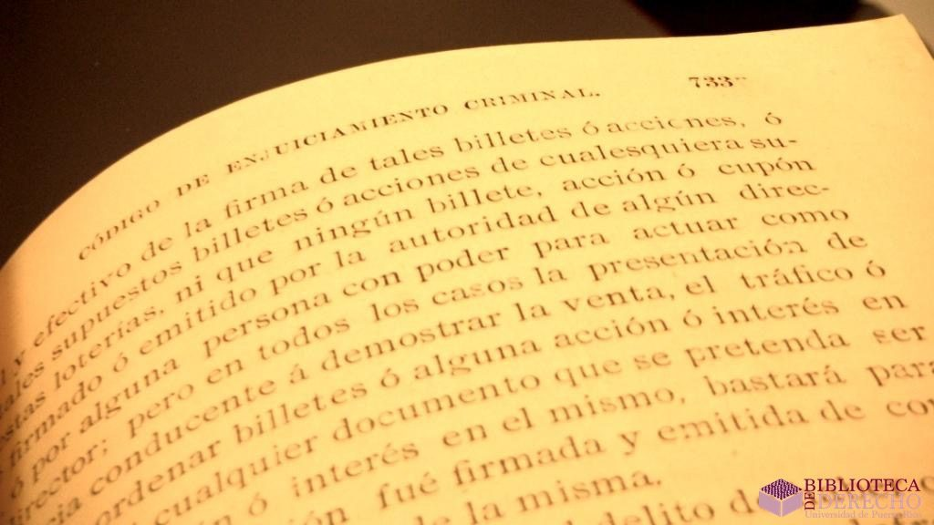 Código de Enjuiciamiento Criminal 1902