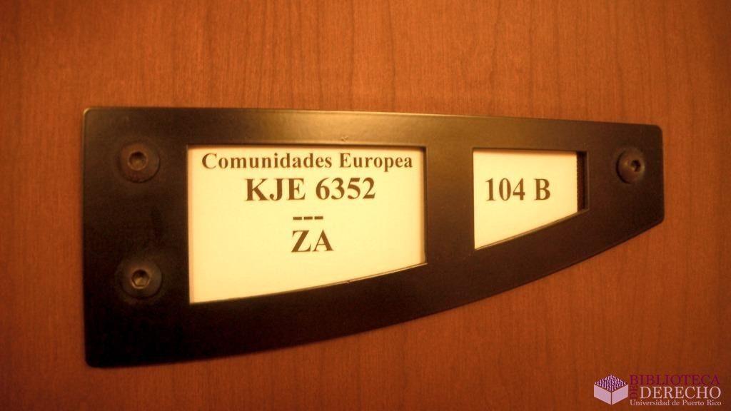 Colección Jurídica Europea