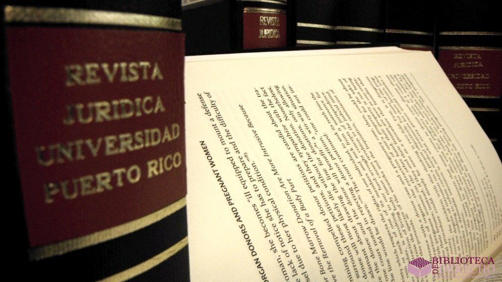 Colección Jurídica de Revistas