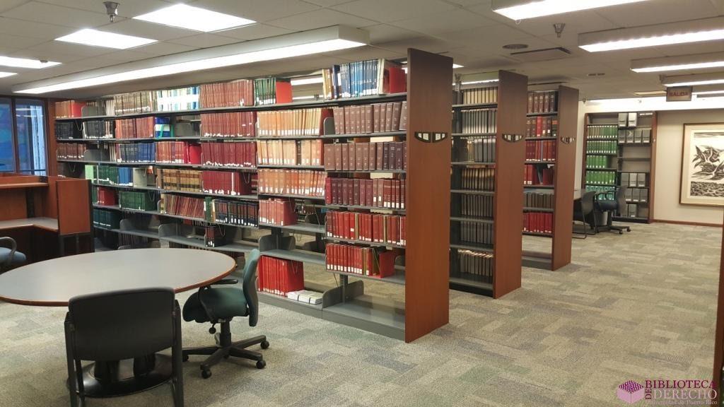 Facilidades de la Biblioteca de Derecho de la UPR 006
