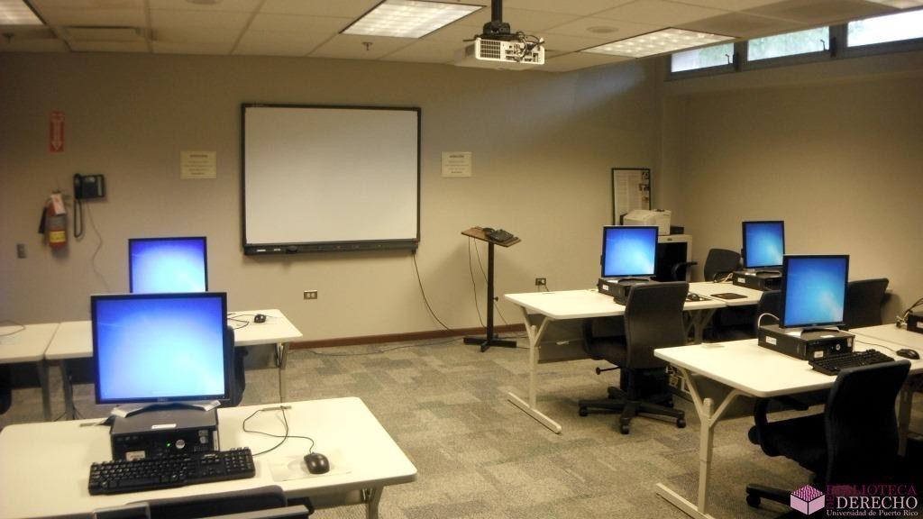Facilidades de la Biblioteca de Derecho de la UPR