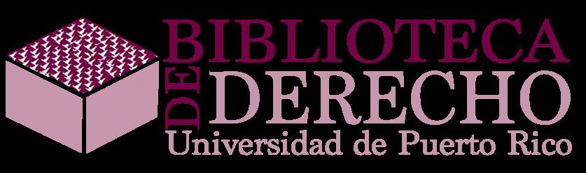 Biblioteca de Derecho Logo