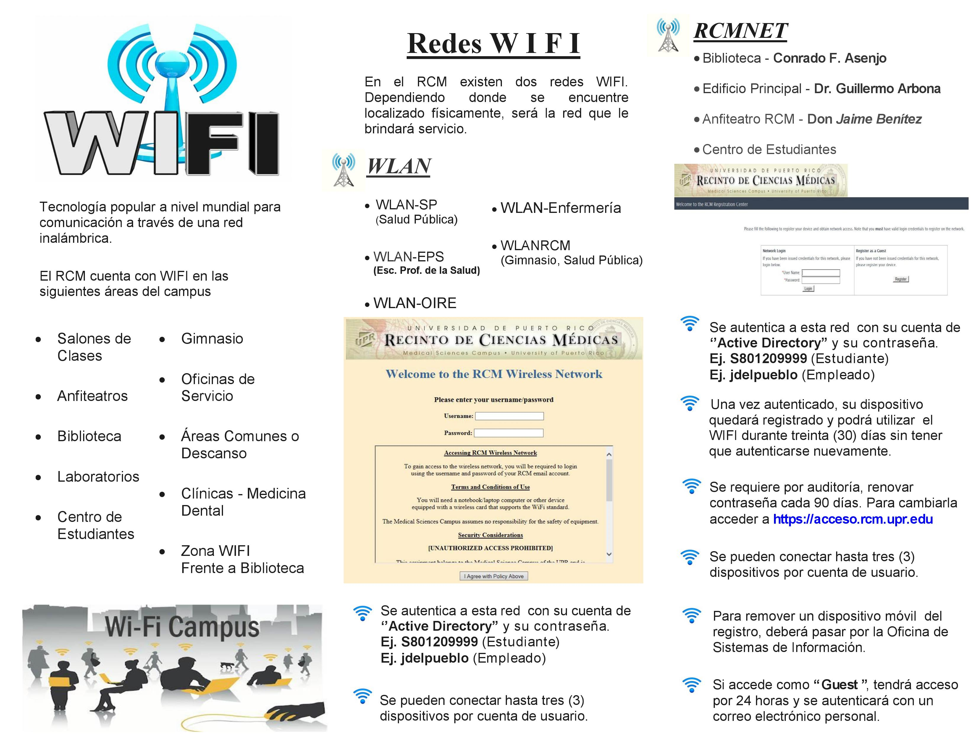 INSTRUCCIONES DE USO DEL WIFI