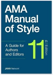 11th Edition of the AMA Manual of Style!