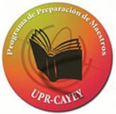 Logo representativo del Programa de Preparación de Maestro, es círcular tonalidades rojo y amarillo , tiene un libro abierto .