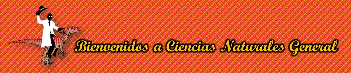 Banner representativo de la bienvenida a los estudiantes al departamento de Ciencias Naturales General