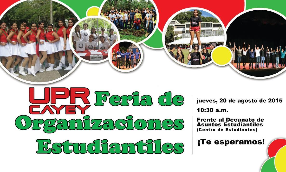 Promoción Feria de Organizaciones Estudiantiles