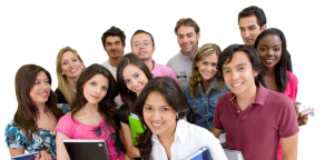 Imagen de grupo de estudiantes