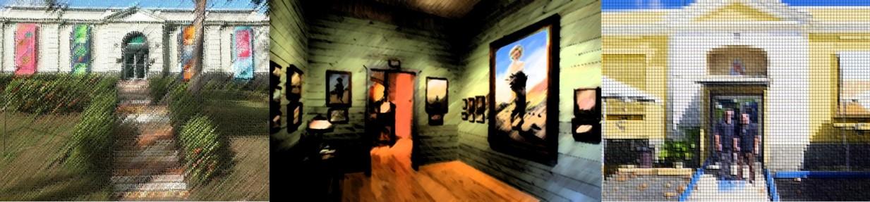 Arte creado con imágenes del Museo Dr. Pío López Martínez