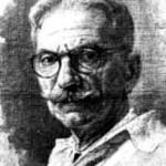 Imagen a lapiz de Ramón Frade León