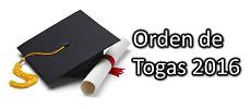 Imagen representativa de anuncia a los candidatos a graduación para el pedido de togas.
