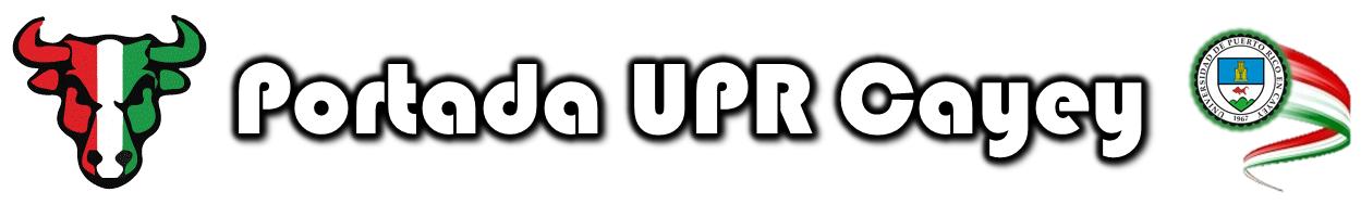 Banner representativo a la área de portada de la pagina web de la UPR Cayey