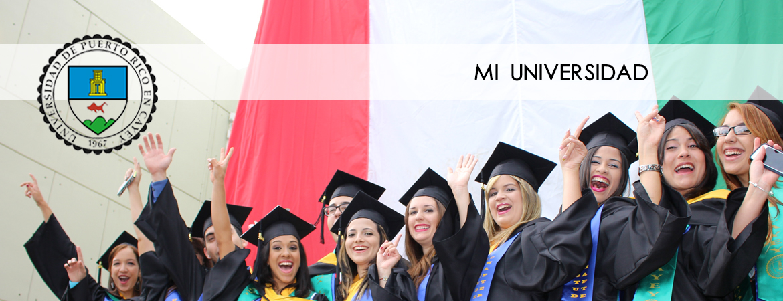 Banner representativo a las graduaciones UPR Cayey