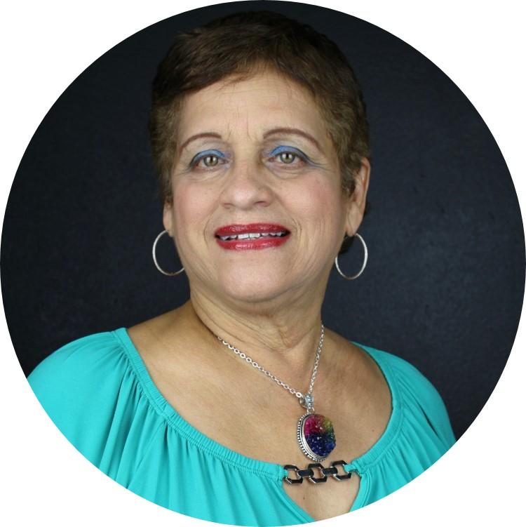 Foto de la Profa. María del Pilar Delgado