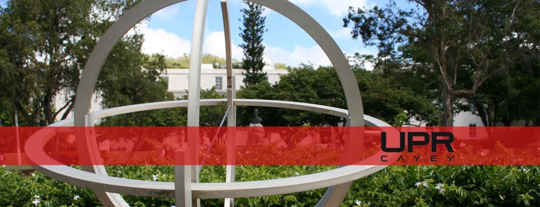 Banner representativo al reloj de sol de la Plaza Agustin Stahl
