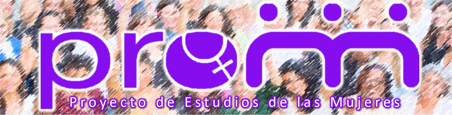 Banner representativo al Proyecto de Estudios de las Mujeres