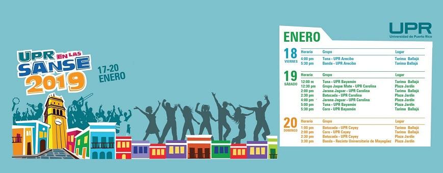 Imagen representativa a Banner promoción la UPR en la Sanse 2019