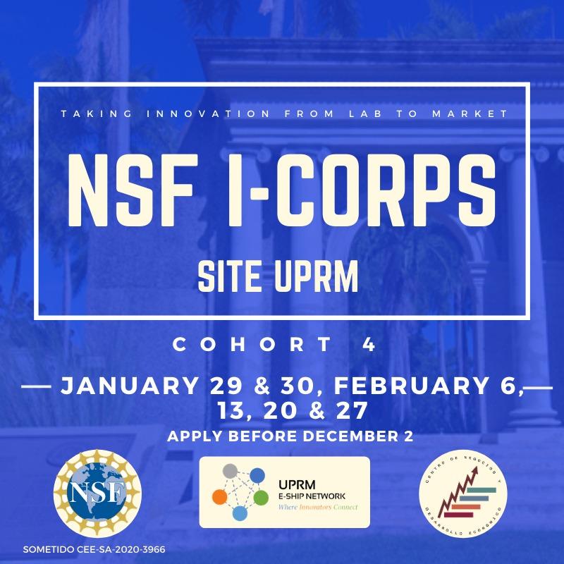 NSF I-Corps 4