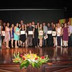Premiación de Estudiantes en el teatro de UPRH