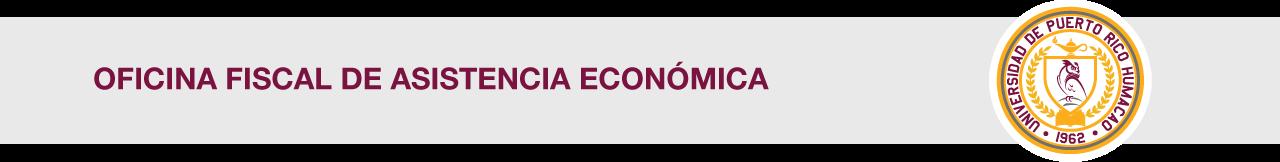 Cintillo de la Oficina Fiscal de Asistencia Económica