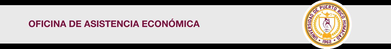 Cintillo de la Oficina de Asistencia Económica