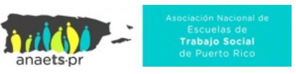 Logo de Asociación Nacional de Escuelas de Trabajo social de PR