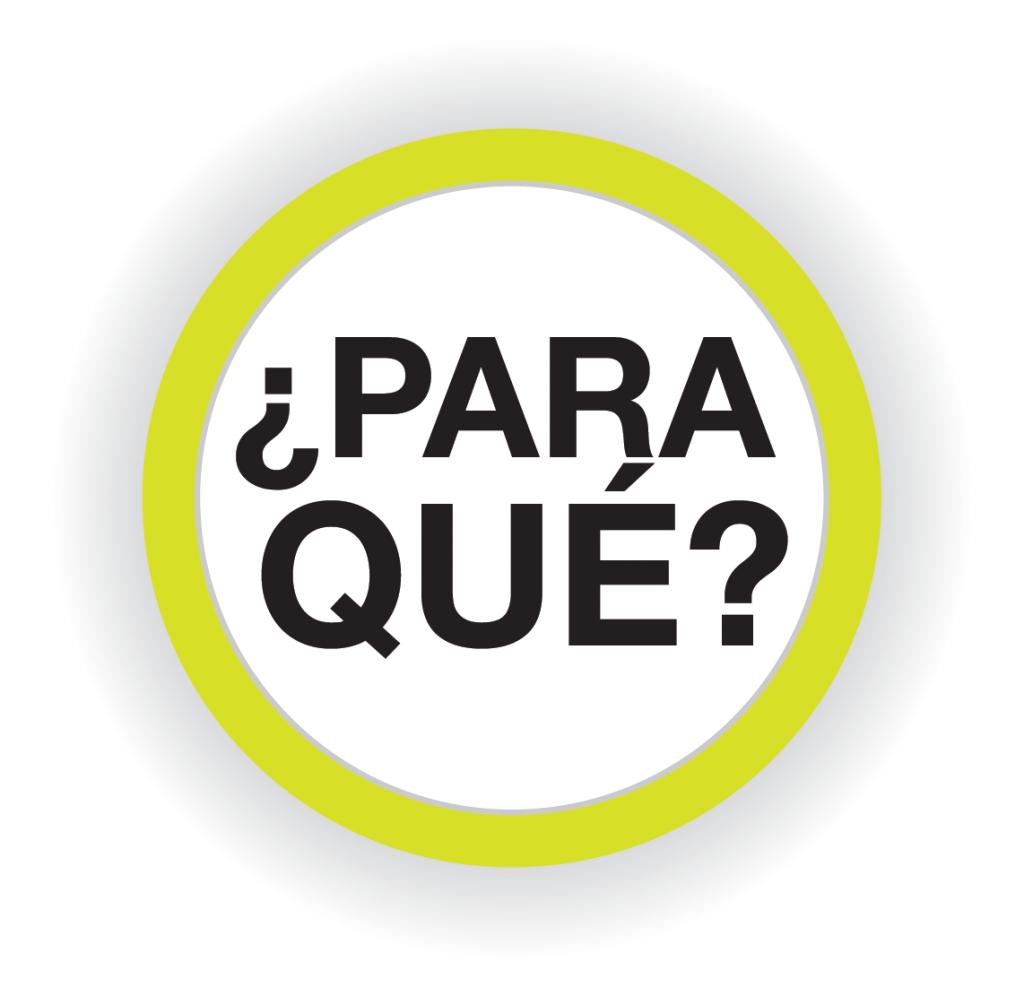 icono Para Que?