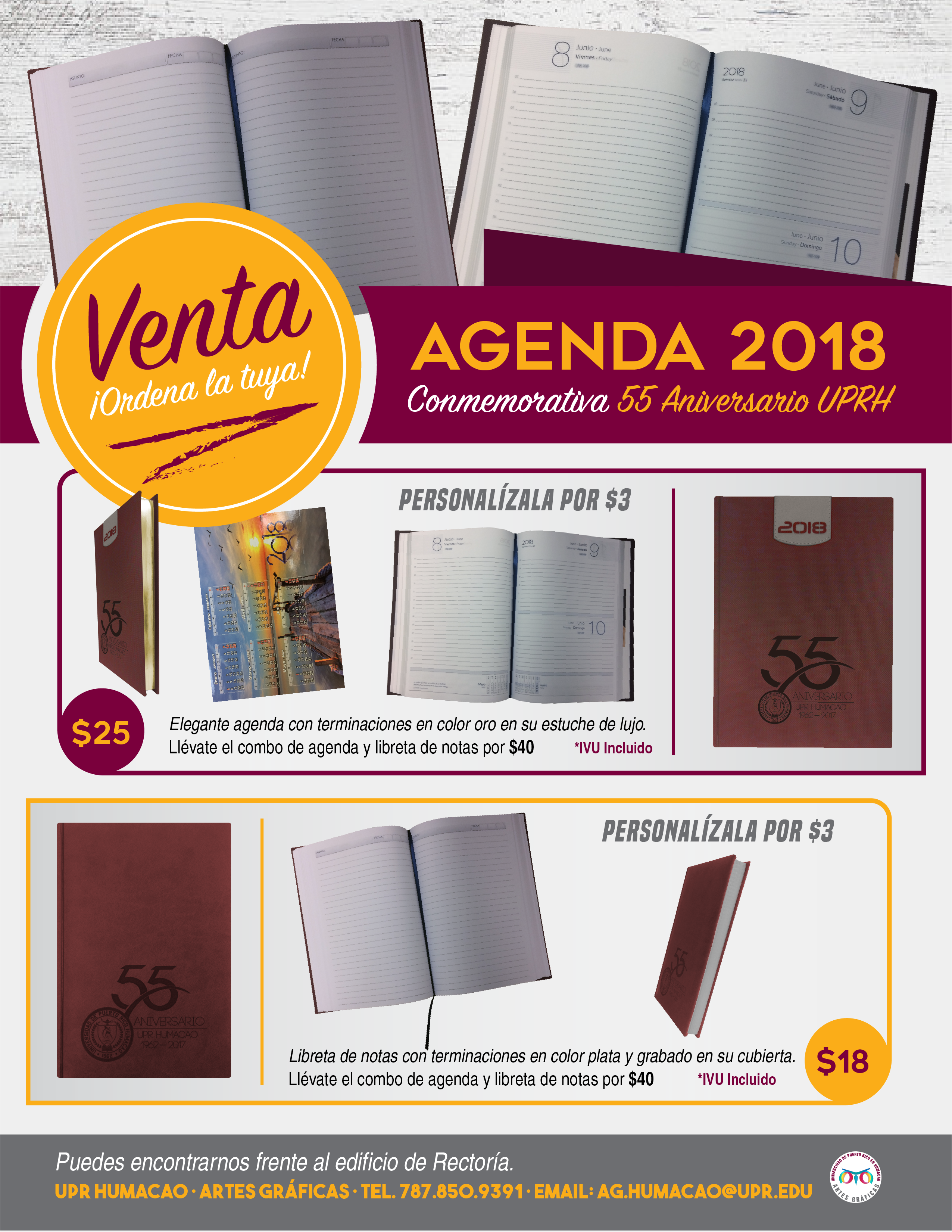 Promo para Agenda 2018