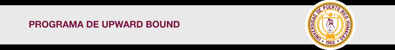 Cintillo del Programa de Upward Bound