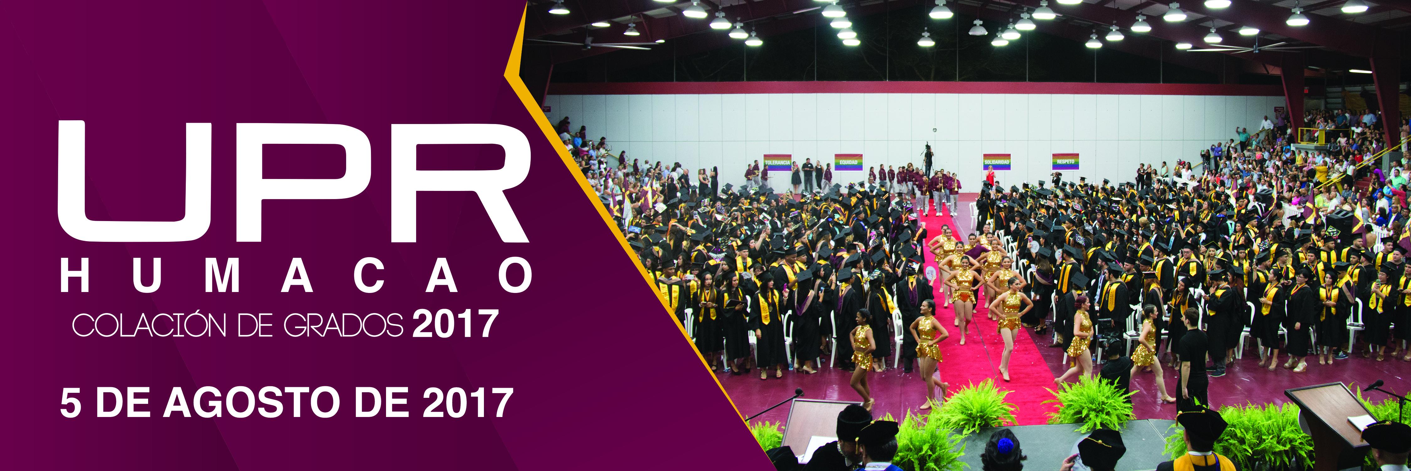 Banner de Colación de Grados 2017