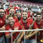 Foto de estudiantes de la banda de UPRH