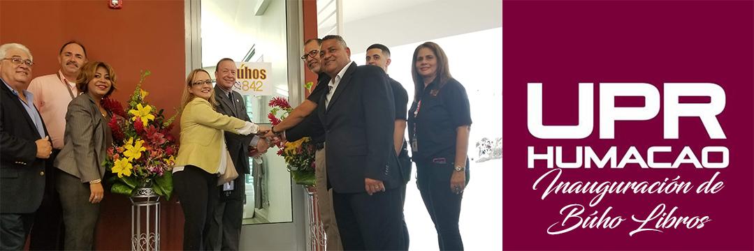 Foto de inauguración de Búho Libros