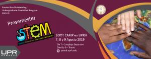 Stem boot camp Invitación 2019