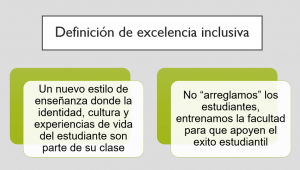 excelencia inclusiva
