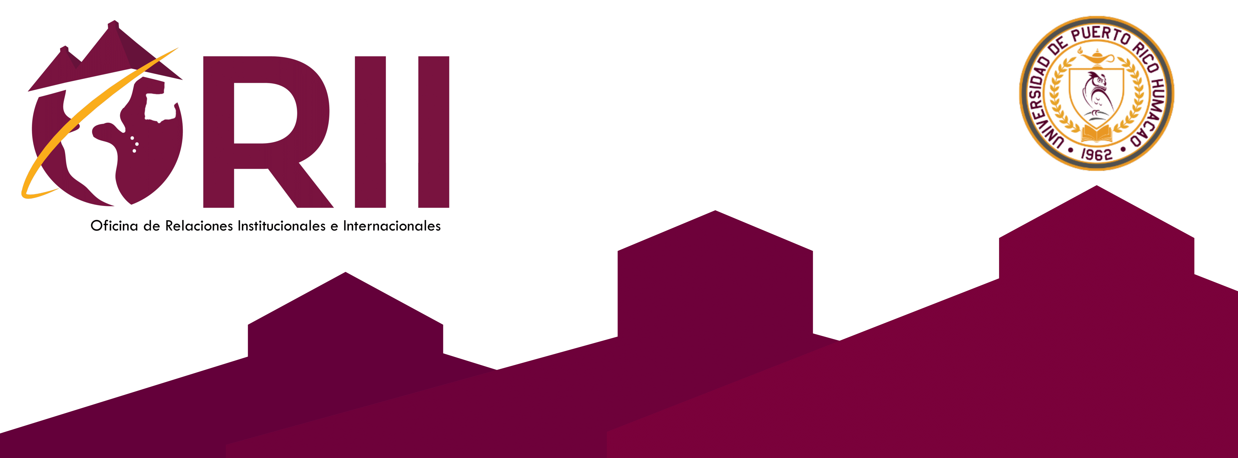 Banner de la Oficina de Relaciones Institucionales e Internacionales