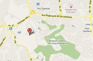 Imagen Google map especifica dirección Junta Gobierno