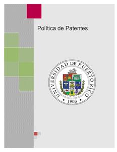 Política de Patentes