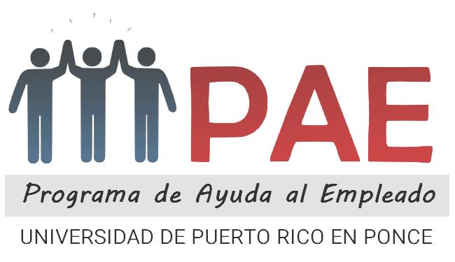 Logo Oficial de PAE UPR-Ponce