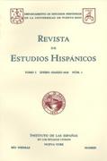 Revista Estudios Hispanicos