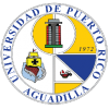 sello recinto de Aguadilla, colores azul, amarillo y blanco, imagenes barco, año 1972