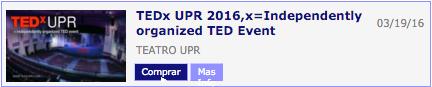 TedxUPR Tickets