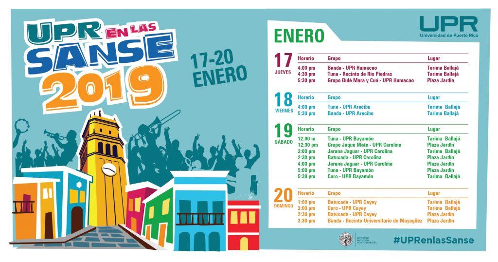 Calendario UPR Sanse