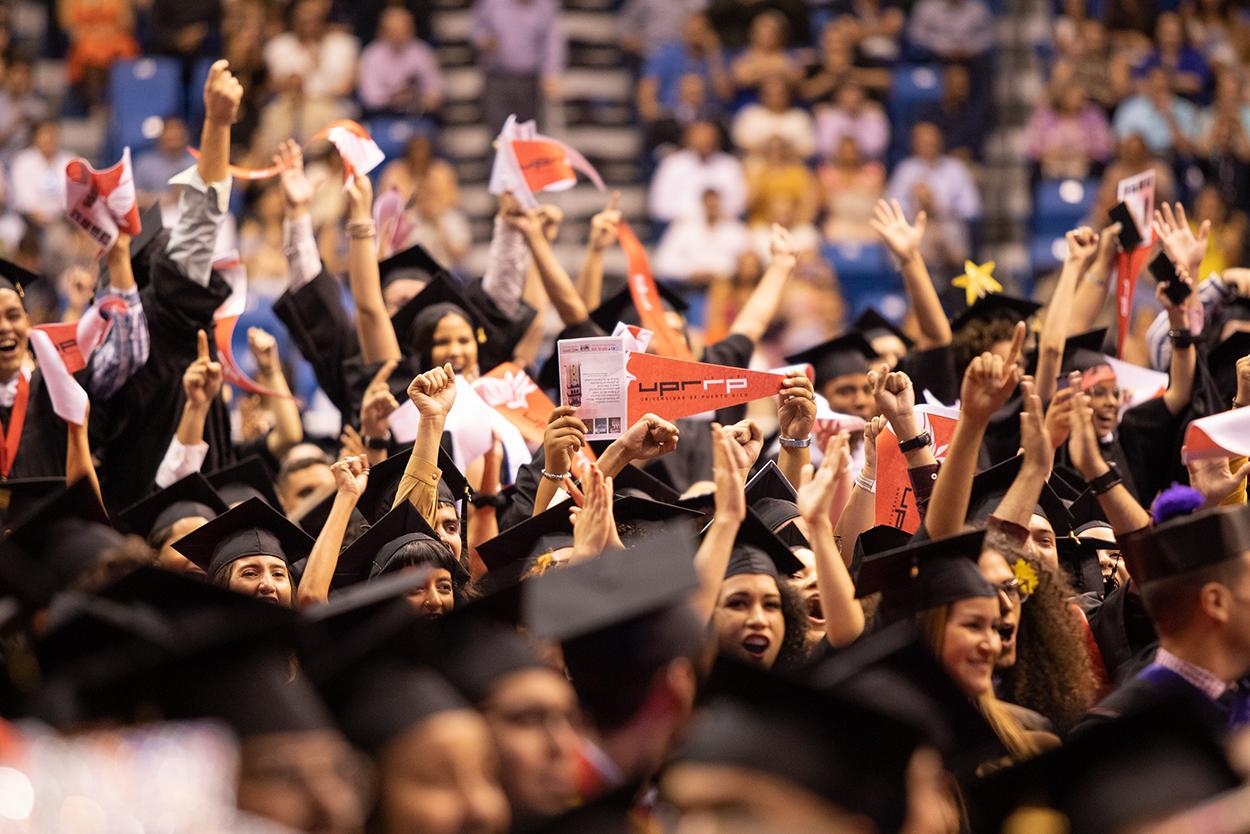 Graduandos 2 UPR Río Piedras - Graduación 2019
