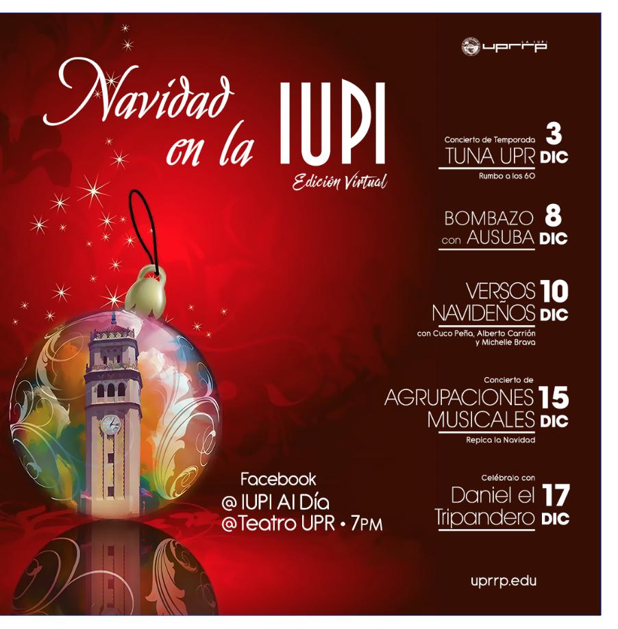 Al son de la música llega la Navidad a la IUPI – Universidad de Puerto Rico