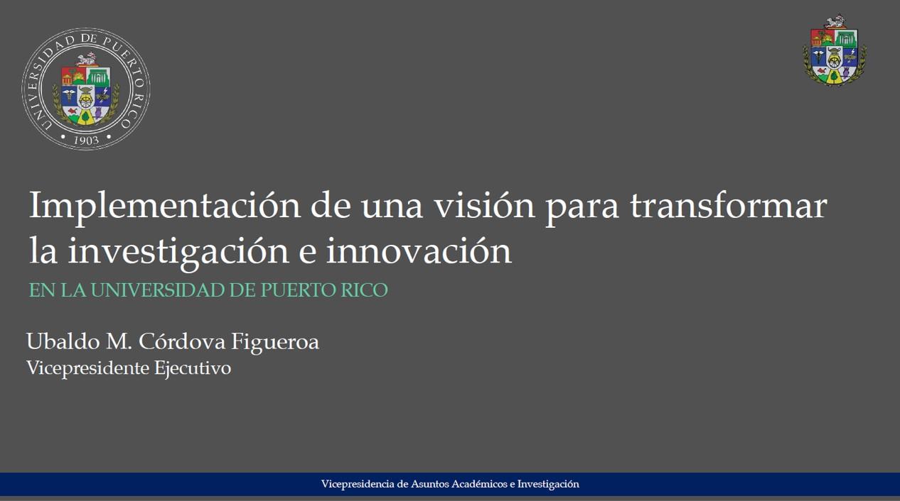 Presentación Innovacion y Emprendimiento