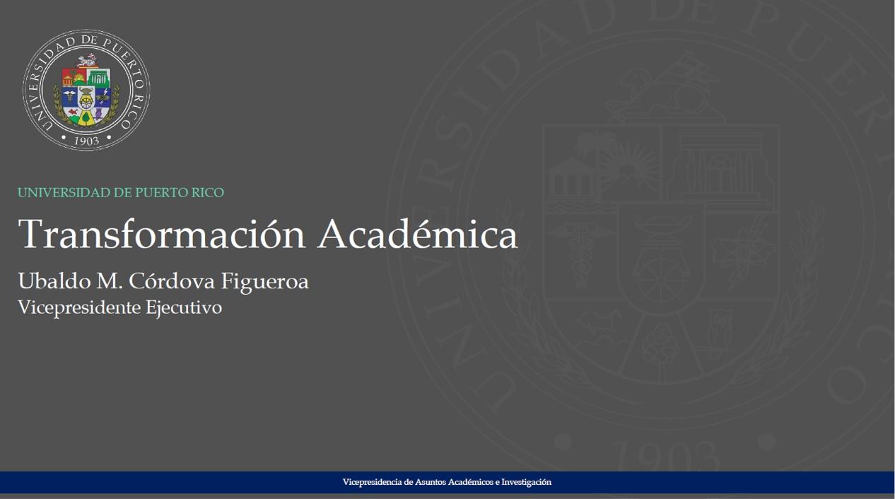Presentacion Transformación Académica